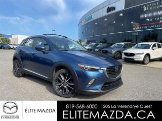 Used 2018 Mazda CX-3 Grand Touring AWD for sale in Gatineau, QC