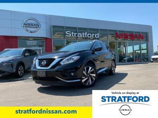 Used 2018 Nissan Murano Platinum for sale in Stratford, ON