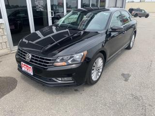 Used 2016 Volkswagen Passat 1.8 TSI Comfortline COMES WITH 4 NEW TIRES - SAFETIED for sale in Chatham, ON
