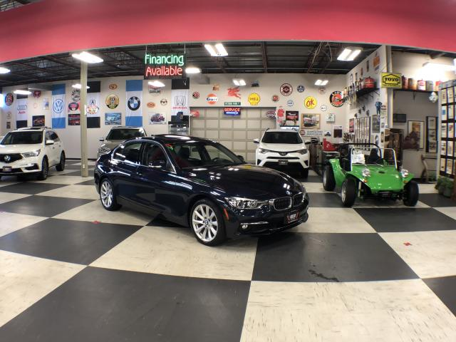 2017 BMW 3 Series 320I X-DRIVE PREMIUM  NAVI PKG LEATHER SUNROOF 36K