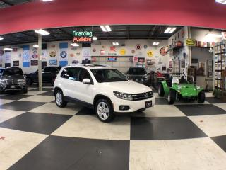 Used 2012 Volkswagen Tiguan 2.0L FWD AUTO A/C LEATHER BLUETOOTH PANO/ROOF for sale in North York, ON