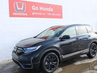 New 2021 Honda CR-V Black Edition for sale in Edmonton, AB