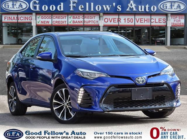 2018 Toyota Corolla XSE MODEL, LEATHER SEATS, SUNROOF, NAVIGATION, LDW