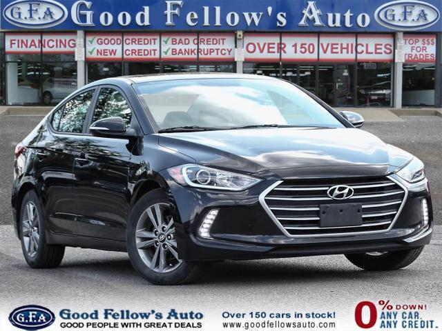 2018 Hyundai Elantra GLS MODEL, BACKUP CAMERA, SUNROOF, BLIND SPOT