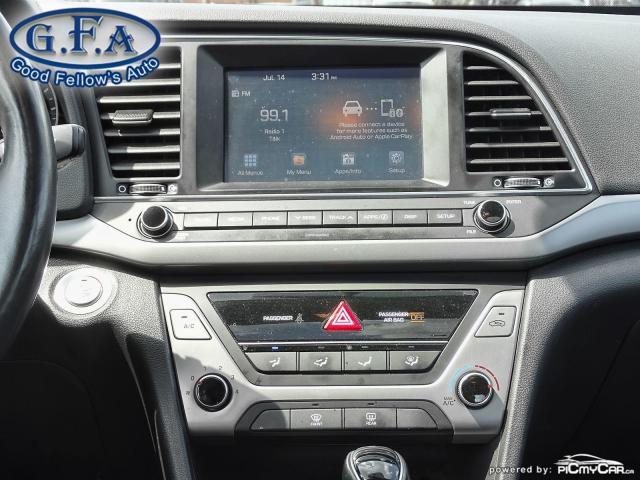 2018 Hyundai Elantra GLS MODEL, BACKUP CAMERA, SUNROOF, BLIND SPOT Photo13