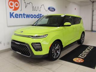 Used 2020 Kia Soul EX Premium Heated Steering/Seats   Moonroof   NAV   Auto for sale in Edmonton, AB