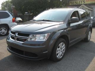 Used 2015 Dodge Journey Canada Value Pkg 7pass Rev Cam AC Cruise for sale in Ottawa, ON