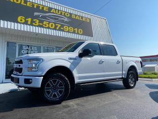 Used 2016 Ford F-150 XLT What a Beauty! FX4 Off Road Package! Tonneau Cover! Bed Liner! for sale in Kingston, ON