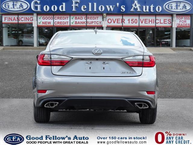 2017 Lexus ES 350 PREMIUM, LEATHER SEATS, SUNROOF, REARVIEW CAMERA Photo4