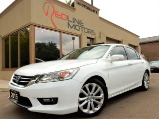 Used 2015 Honda Accord Touring.Navigation.Camera.Leather.Roof.OneOwner for sale in Kitchener, ON
