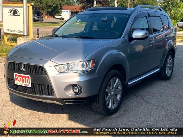 2010 Mitsubishi Outlander GT|LOW KM|NO ACCIDENT|NAV|AWD|BLUETOOTH|CERTIFIED