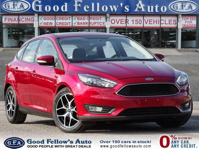 2017 Ford Focus SEL MODEL, SUNROOF, NAVIGATION, REARVIEW CAMERA
