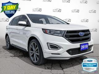 Used 2018 Ford Edge Sport AWD/Navi/Roof/21 Wheels for sale in St Thomas, ON