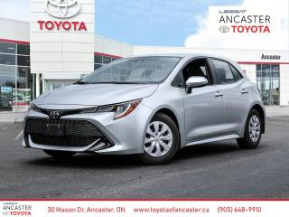 Used 2019 Toyota Corolla Hatchback ONE OWNER | NO ACCIDENTS | PUSH BUTTON for sale in Ancaster, ON