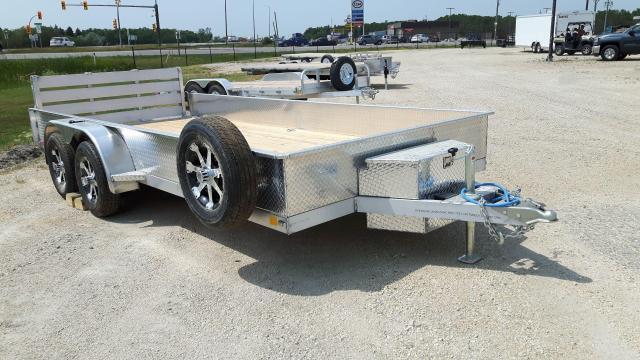 2021 Stronghaul Utility Trailer  7 x 16 x 15 Aluminum