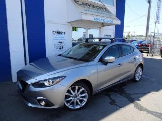 Used 2014 Mazda MAZDA3 HB Sport Auto GT-SKY, Nav, Sunroof, HUD, Rev Cam for sale in Langley, BC