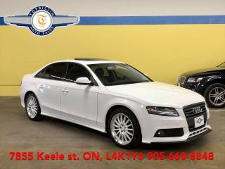 Used 2010 Audi A4 2.0T Premium Quattro, Leather, Roof for sale in Vaughan, ON