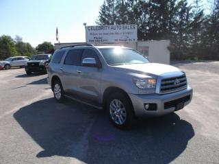 Used 2012 Toyota Sequoia Platinum for sale in Elmvale, ON