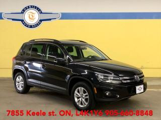 Used 2014 Volkswagen Tiguan 4Motion AWD, 2 Years Power-train Warranty for sale in Vaughan, ON