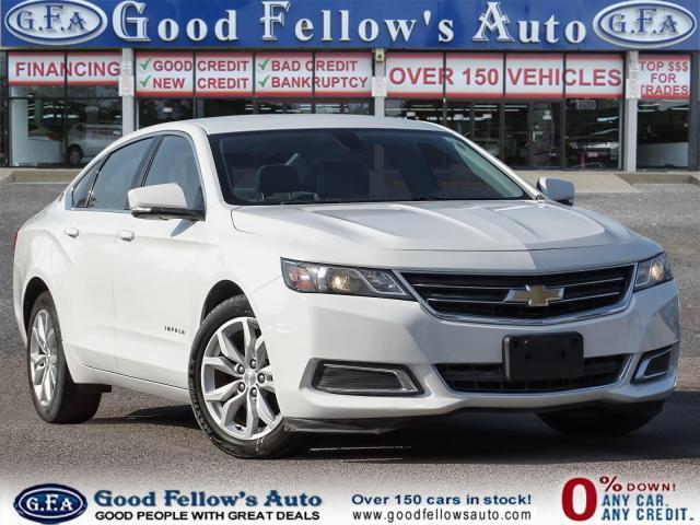 2017 Chevrolet Impala Car Loan Available ..!