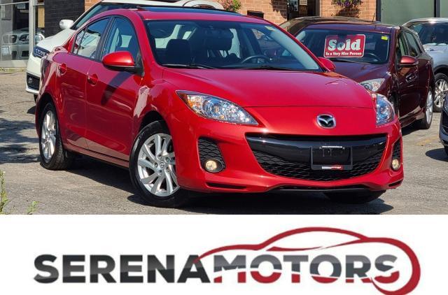 2012 Mazda MAZDA3 GS   MANUAL   LEATHER   SUNROOF   NO ACCIDENTS