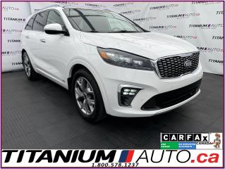 Used 2019 Kia Sorento SX+AWD+GPS+V6+Pano Roof+Cooled Seats+Tow PKG+Camer for sale in London, ON