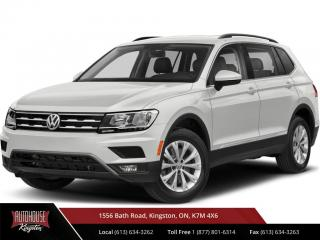 Used 2019 Volkswagen Tiguan Comfortline Third Row Seating! Heated Leather! for sale in Kingston, ON