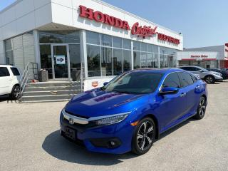 Used 2017 Honda Civic Touring NAVI   LEATHER   for sale in Winnipeg, MB