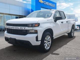 Used 2019 Chevrolet Silverado 1500 Custom Double Cab   4WD   5.3L V8 for sale in Winnipeg, MB