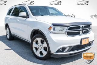 Used 2015 Dodge Durango SXT SOLD AS TRADED, YOU CERTIFY, YOU SAVE!!! for sale in Barrie, ON