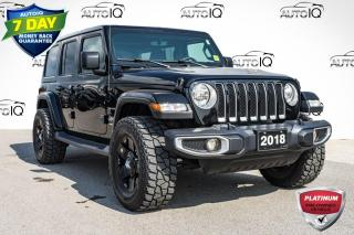 Used 2018 Jeep Wrangler Unlimited Sahara DUAL TOP | NAVIGATION for sale in Innisfil, ON
