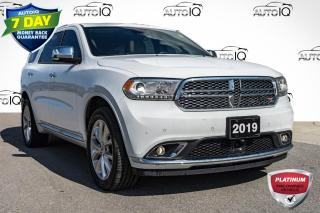 Used 2019 Dodge Durango Citadel AWD LEATHER INTERIOR for sale in Innisfil, ON