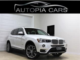 Used 2017 BMW X3 AWD xDrive28i NAVIGATION REAR VIEW CAMERA for sale in North York, ON