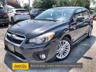 Used 2012 Subaru Impreza 2.0i Limited Package LEATHER  ROOF  HEATED SEATS for sale in Ottawa, ON