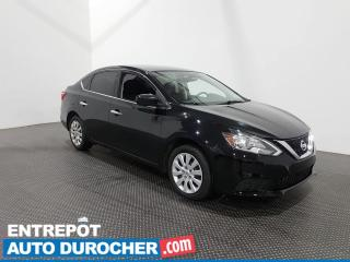 Used 2017 Nissan Sentra SV AUTOMATIQUE - Sièges chauffant - Climatiseur - for sale in Laval, QC