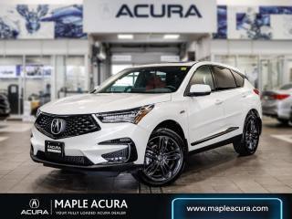 Used 2020 Acura RDX A-Spec, Low KM, One owner, No Accidents for sale in Maple, ON