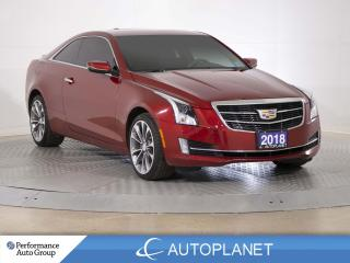 Used 2018 Cadillac ATS AWD, Luxury, Navi, Sunroof, Android Auto, Bose! for sale in Brampton, ON