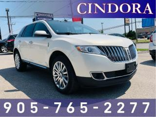 Used 2013 Lincoln MKX AWD,Fully Loaded,Pano Roof, Leather, NAV for sale in Caledonia, ON
