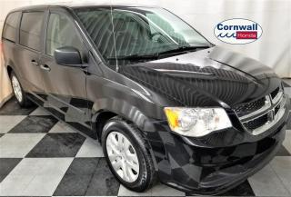 Used 2017 Dodge Grand Caravan CVP/SXT - Clean CarFax, One Owner for sale in Cornwall, ON