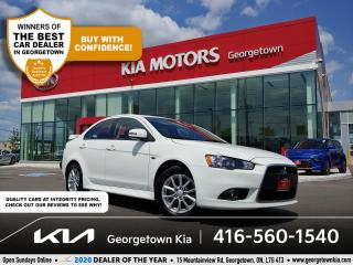Used 2015 Mitsubishi Lancer SE | CLN CRFX | PWR SUNROOF | BLUETOOTH | 79 K | for sale in Georgetown, ON
