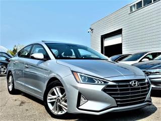 Used 2019 Hyundai Elantra SEL/Value Edition/Limited/Preferred for sale in Brampton, ON