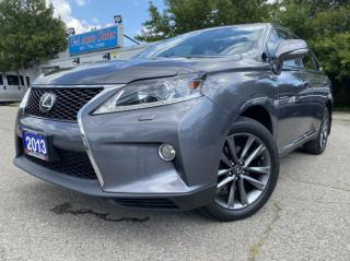 Used 2013 Lexus RX 350 AWD 4dr F SPORT * HUD*NAVI*BACK UP*PREMIUM for sale in Brampton, ON