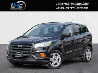 Used 2017 Ford Escape S-BACKUP CAMERA-BLUETOOTH-NO ACCIDENTS-80KMS-CERTIFIED for sale in Toronto, ON