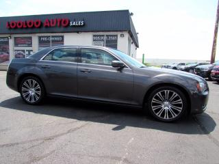 Used 2013 Chrysler 300 S V6 Limited Navigation Panoramic Sunroof Certified for sale in Milton, ON