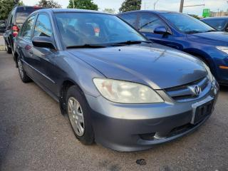 Used 2005 Honda Civic 4DR SE AUTO for sale in North York, ON