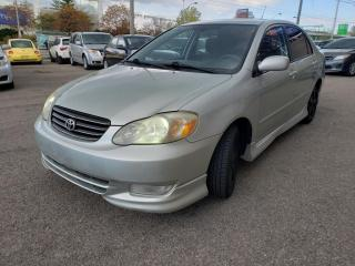Used 2003 Toyota Corolla 4DR SDN for sale in North York, ON