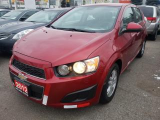 Used 2012 Chevrolet Sonic 5dr Hb Lt for sale in North York, ON