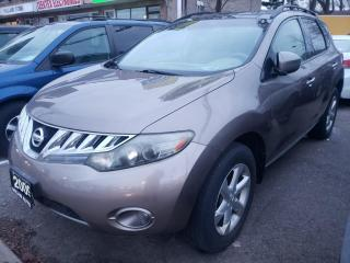 Used 2009 Nissan Murano AWD 4DR for sale in North York, ON