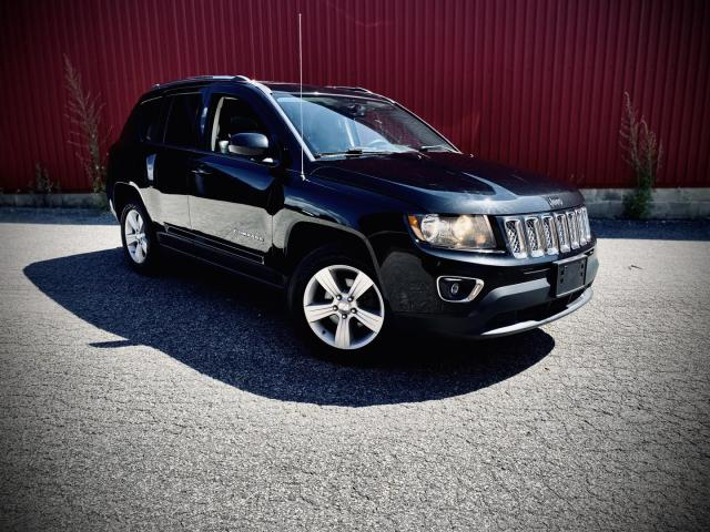 2016 Jeep Compass High Altitude, Leather, Sunroof, 4WD
