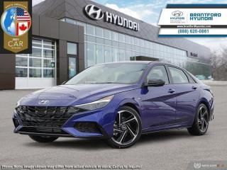 New 2021 Hyundai Elantra N-Line DCT  - $184 B/W for sale in Brantford, ON